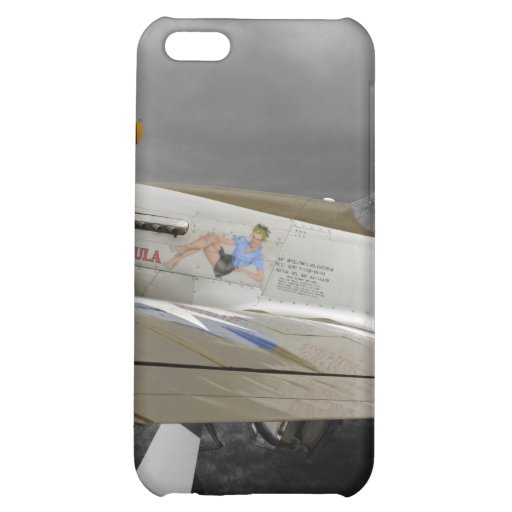 "P51 Mustang ""Paula"" X iPhone 5C Cases"
