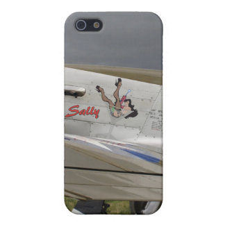 "P51 Mustang ""Sally"" X Case For iPhone SE/5/5s"