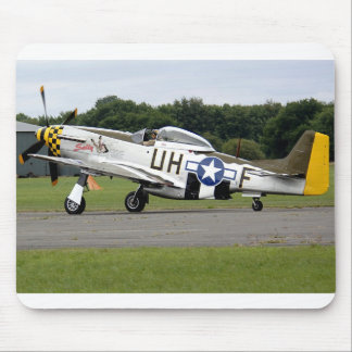 """P51 Mustang """"Sally"""" X Mouse Pad"""