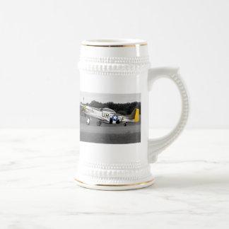 "P51 Mustang ""Sally"" X Retro Beer Stein"