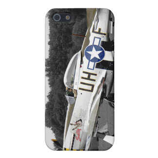 "P51 Mustang ""Sally"" X Retro Cover For iPhone SE/5/5s"