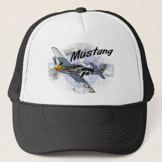 P51 Mustang Trucker Hat
