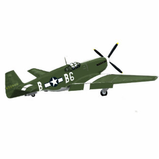 P51 Mustang US Fighter Statuette