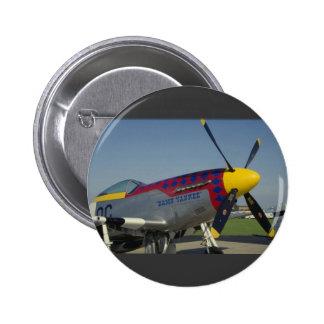 P51 mustango, cono de nariz/propulsor que muestra  pins