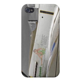 "P51 mustango ""Jeannie"" X iPhone 4 Carcasas"
