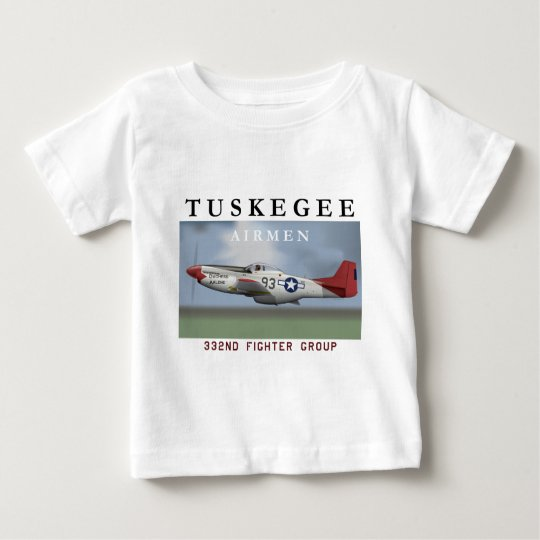 P51D 332nd Fighter Group Baby T-Shirt