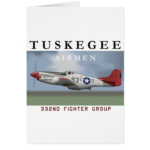 P51D 332nd Fighter Group Cards