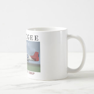 P51D 332nd Fighter Group Classic White Coffee Mug