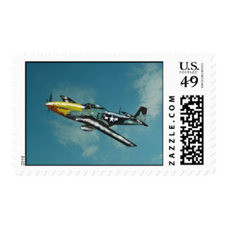 P51D Mustang Postage
