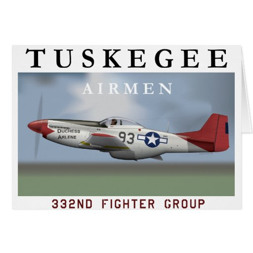"P51D ""Red Tail"" Mustang Cards"