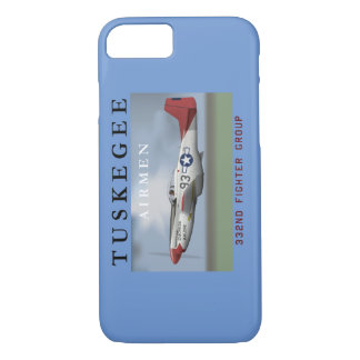 P51D Red Tail Mustang Fighter iPhone 8/7 Case