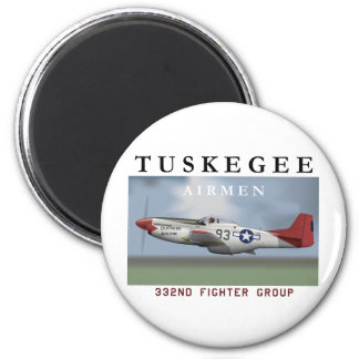 "P51D ""Red Tail"" Mustang Magnet"