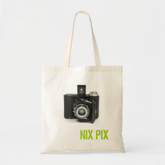 P60682 A, NIX PIX TOTE BAG