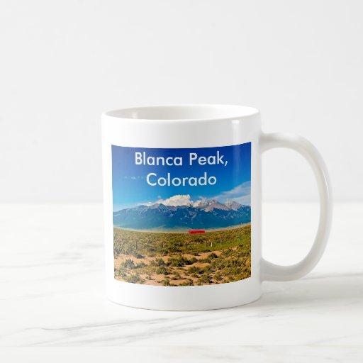 P6190115, Blanca Peak, Colo... Coffee Mug