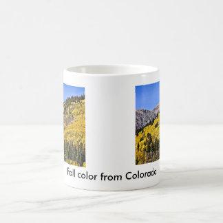 P9270030 - Hill of Golden Aspen Coffee Mug
