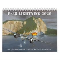 P-38 Lightning Authorized Calendar