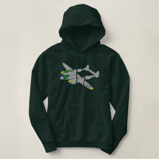 P-38 Lightning Embroidered Hoodie
