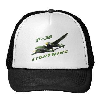 P-38 Lightning Hats