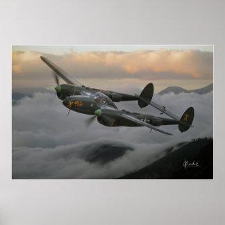P-38 Lightning Poster
