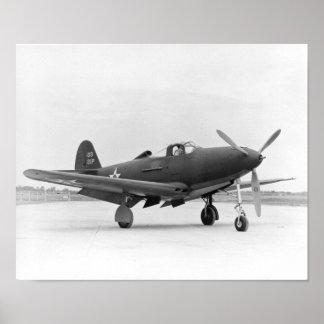 P-39 Airacobra Póster