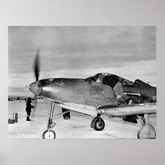 P-39 Aircobra Póster