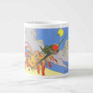 P-40 Flying Tiger Giant Coffee Mug