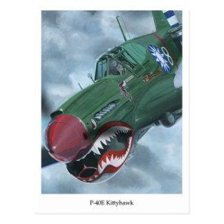 P-40 Kittyhawk Postcard