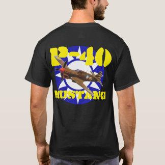 P-40 MUSTANG FLYING TIGER T-Shirt