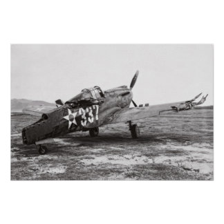 P-40 PLANE - PEARL HARBOR - 1941 POSTER