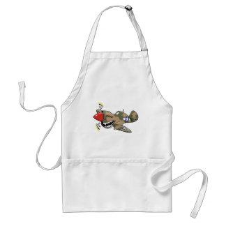 p-40 warhawk adult apron