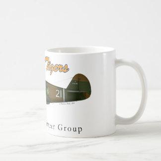 """P-40B_AVG """"Flying Tigers"""" Coffee Mug"""