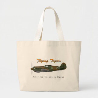 P-40B Flying Tigers Tote Bags