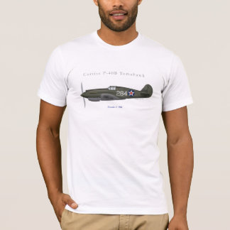 P-40B Tomahawk Fighter T-Shirt