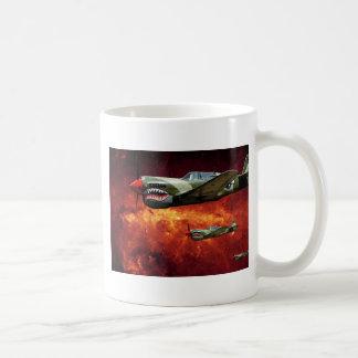 P-40s en el espacio - imaginación taza de café