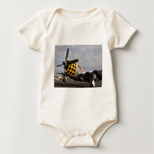 P-47 Thunderbolt Baby Bodysuit
