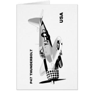 P-47 THUNDERBOLT CARD