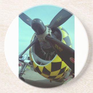 P-47 Thunderbolt Coaster coaster