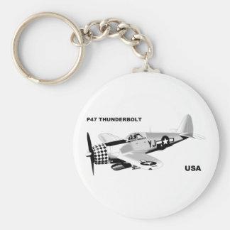 P-47 THUNDERBOLT KEYCHAIN