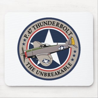 P-47 Thunderbolt Mouse Pad