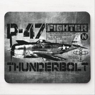 P-47 Thunderbolt Mousepads