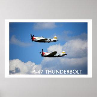 "P-47 THUNDERBOLT ""Nice Jugs"" Poster"