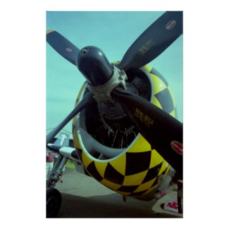 P-47 Thunderbolt Poster print