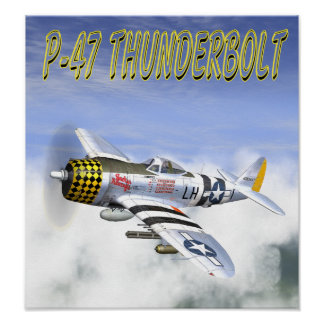 P-47 THUNDERBOLT POSTER
