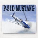 P-51 contra BF109 MOUSEPAD