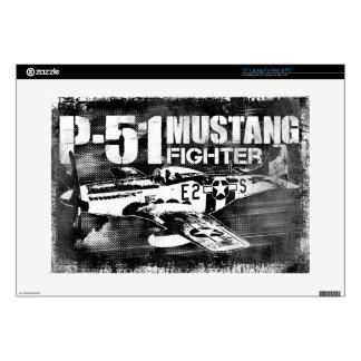"""P-51 Mustang 15"""" Laptop For Mac & PC Skin"""