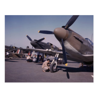 P-51 Mustang, 1942 Postcard