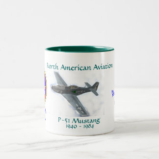 P-51 MUSTANG, 7th Fighter Squadron Coffee Mugs