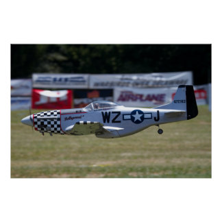P-51 Mustang at Warbirds Over Delaware Posters
