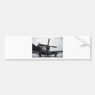 P 51 Mustang Battle of the Bulge Bumper Sticker