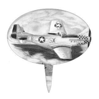 (P-51) Mustang Cake Topper